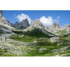 The cirque in the high Monfalconi di Forni valley
