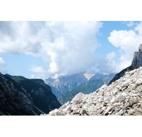Panorami salendo la Val Binon