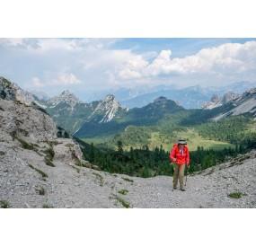 Fine della salita a Forcella Val di Brica