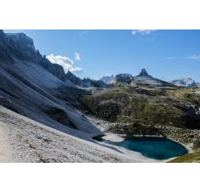I laghi dei piani, poco distanti dal Rifugio Locatelli